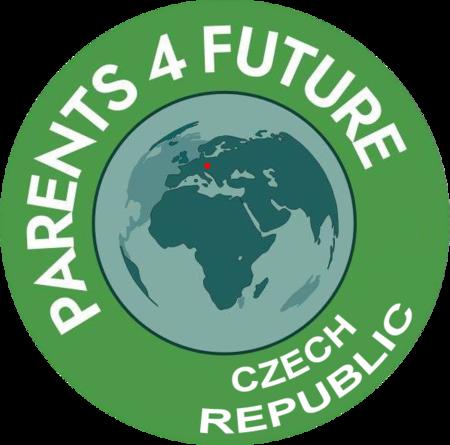 logo, parents for future