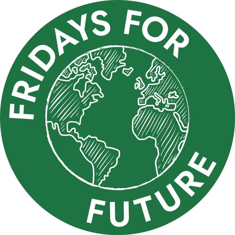 logo, fridays for future