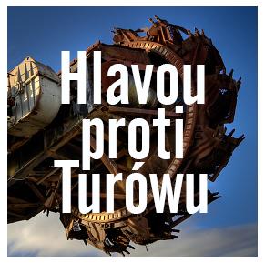 logo, Hlavou Proti Turowu